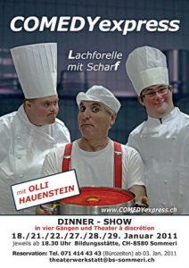 2011 Plakat LACHFORELLE mit SCHARF